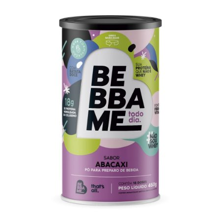 Lata Bebba Me Todo Dia - Sabor Abacaxi (1 unid.)