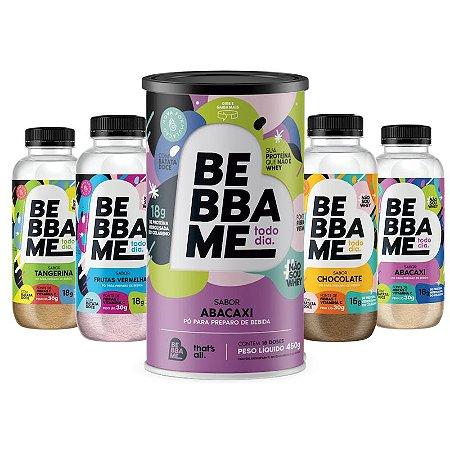Combo Degustação Bebba Me Todo Dia + Lata Bebba Me Todo Dia - Sabor Abacaxi