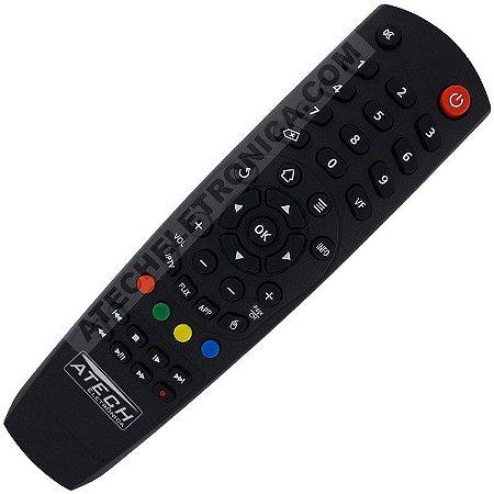 Controle Remoto Receptor Meoflix Black / Ultra