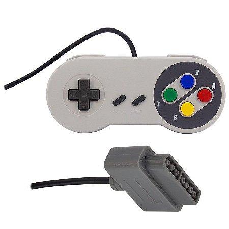 Controle (Joystick) para Super Nintendo (SNES)