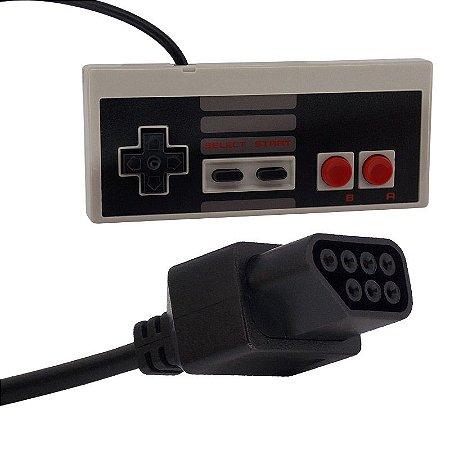 Controle (Joystick) para Vídeo Game Nintendo NES (Nintendinho)