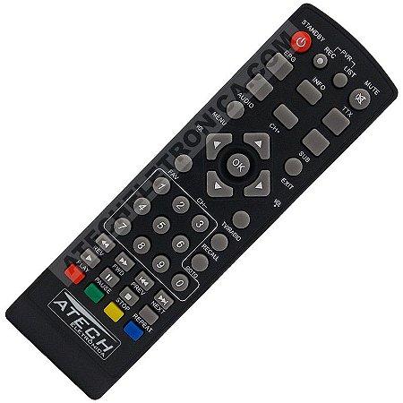 Controle Remoto Conversor Digital Antnet T-100HD