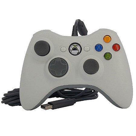 Controle (Joystick) com Fio para Xbox 360