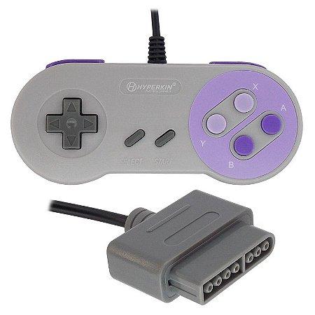 Controle (Joystick) para Super Nintendo (SNES) - Hyperkin
