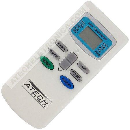 Controle Remoto Ar Condicionado Philco PH7000 / PH12000 / PH18000 / PH24000