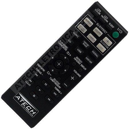 Controle Remoto Aparelho de Som Sony RM-AMU163 / HCD-GPX33 / HCD-GPX55 / HCD-GPX555 / HCD-GPX77 / HCD-GPX88