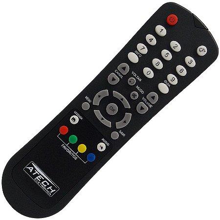 Controle Remoto Receptor Oi TV / Orbisat CR-04 / DTH-S2200