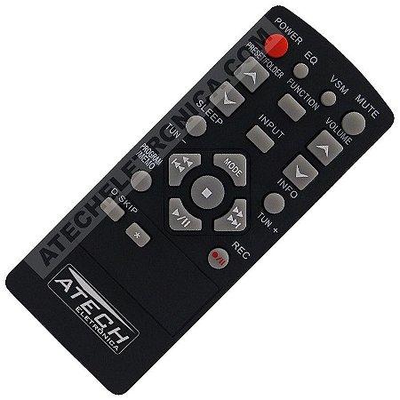 Controle Remoto Aparelho de Som LG AKB36086206 / MCD23 / MCS23F