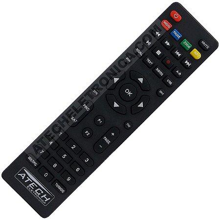 Controle Remoto Receptor Gosat Cable+ / CS+ / Plus / Pro