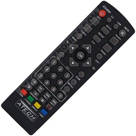 Controle Remoto Conversor Digital Lenoxx RC-114 / SB-615