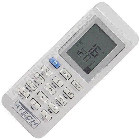 Controle Remoto Ar Condicionado Electrolux Ecoturbo BE18F / BE22F / BI18F / BI22F / TE18R / TE24R / TI18R / TI24F / ETC