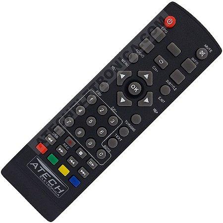 Controle Remoto Conversor Digital Nova Digital DTV-100