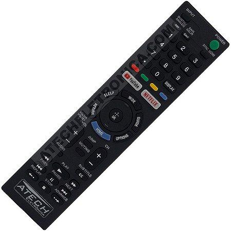 Controle Remoto TV LCD / LED Sony RMT-TX300B com Youtube e Netflix (Smart TV)