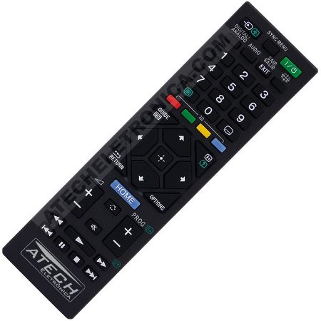 Controle Remoto Universal TV Tubo / LCD / LED Sony (Smart TV) - Todos os Modelos