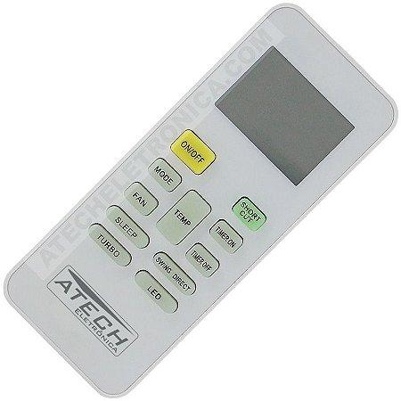 Controle Remoto Ar Condicionado Springer / Carrier RG52B/BGCE