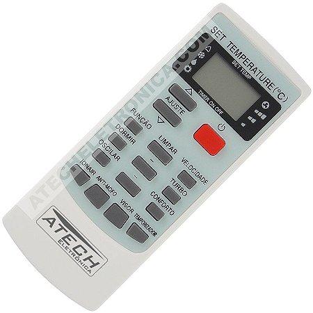 Controle Remoto Ar Condicionado Elgin YKR-H/002E