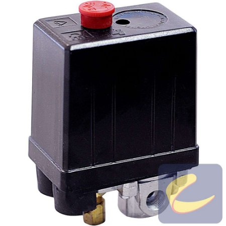 Pressostato 080/120 S/V C/Ch C/M 4 Vias Motocompressores Chiaperini