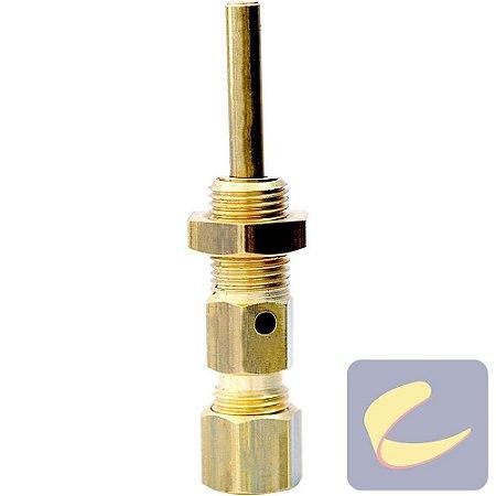 "Válvula Alívio Acion. Centrífugo 1/4"" - Compressores Alta Pressão - Chiaperini"