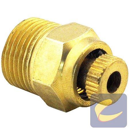 Válvula Purgadora 3/8'' Recartilhada - Motocompressores - Compressores Odonto - Chiaperini
