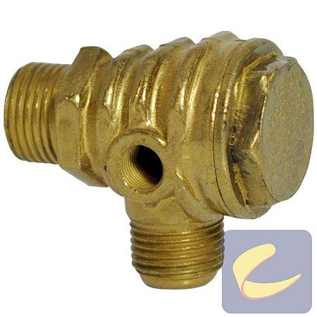 """Válvula Retenção 1/2""""x3/4"""" - 16Unf - Compressores Média Pressão - Chiaperini"""