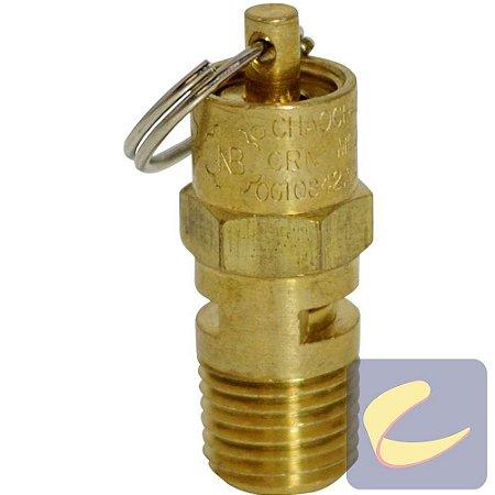 Válvula Segurança 160 Lbs Compressores De Ar Média Pressão Chiaperini