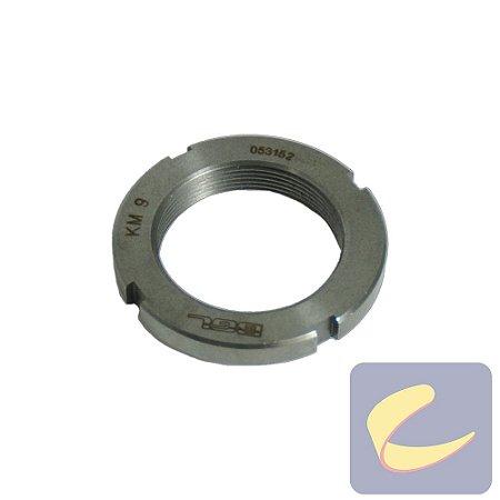 Porca Dentada 45 mm. Km9 - Compressores Alta Pressão - Chiaperini