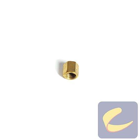 Porca Sext. 1/4'' Bicro - Motocompressores - Chiaperini