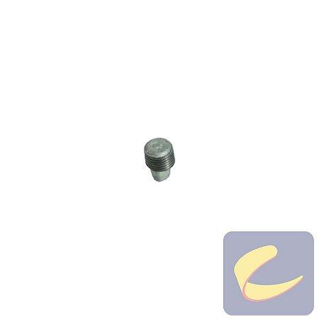 """Plug Galv. 1/4"""" - Compressores Baixa/ Alta Pressão - Chiaperini"""
