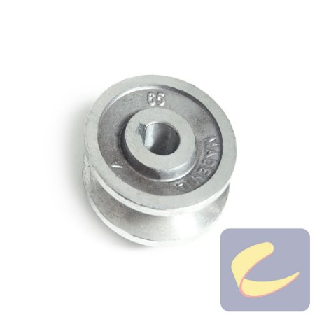 Polia Alumínio 65 mm. 1A F15.87 - Compressores Média Pressão - Chiaperini