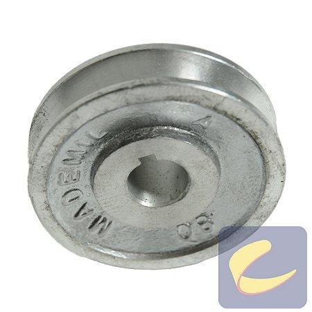 Polia Alumínio 80 mm. 1A F19.04 - Compressores Baixa/ Média Pressão - Chiaperini