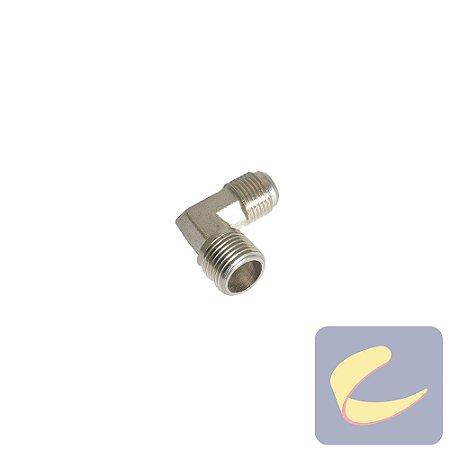 """Cotovelo 1/2Nptx3/4"""" Unf Zinco - Compressores Odonto - Chiaperini"""
