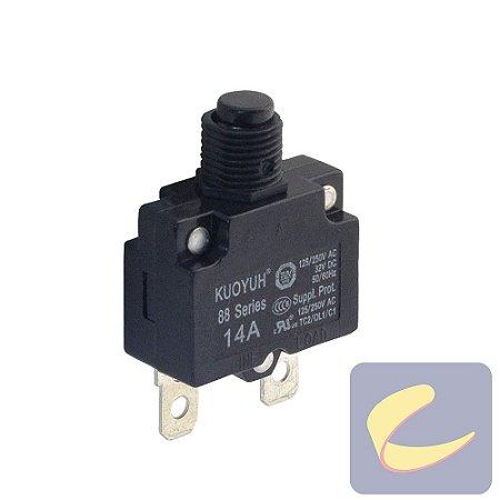 Protetor Termico14A 250V  - Motocompressores - Chiaperini