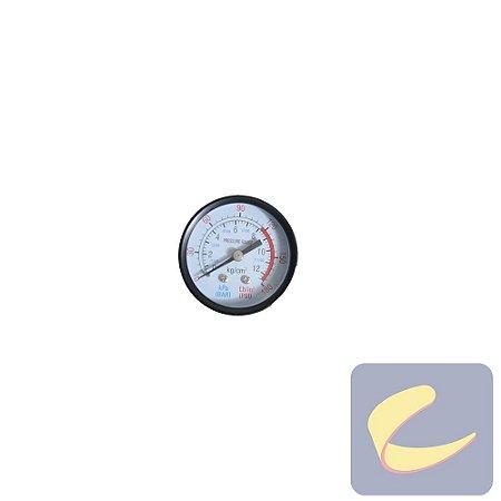 """Manômetro 180 Lbs 120/180 50 mm. 1/4"""" Npt Mupac - Motocompressores - Chiaperini"""