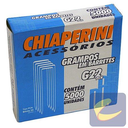 Grampo em Barretes PCN 22mm G-22PCN 5000 unidades Grampeadores Chiaperini