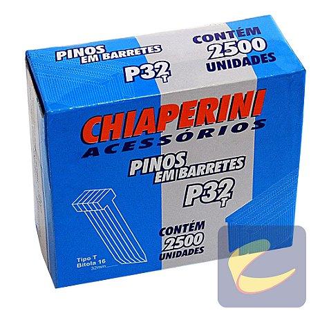 Pino Em Barretes T 32Mm P-32T 2500 Unidades Pinadores - Chiaperini