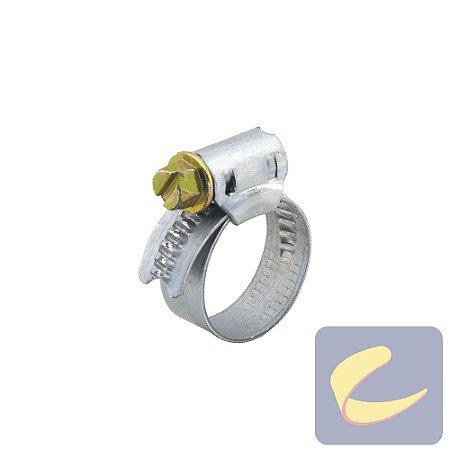 Abraçadeira Rosca Sem Fim 14x22 F9 mm. - Compressores Média Pressão - Lavadoras Lavajato - Chiaperini