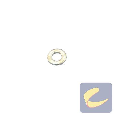 Arruela Lisa M4 Zinco - Motocompressores - Lavadoras Superjato - Elétricas - Chiaperini