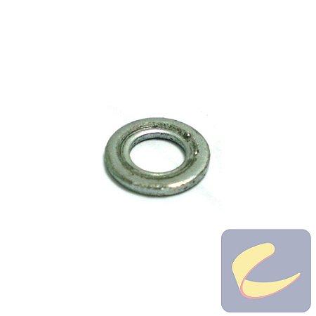 Arruela Lisa M5 Zinco - Compressores Odonto/ Média Pressão - Pneumáticas - Chiaperini