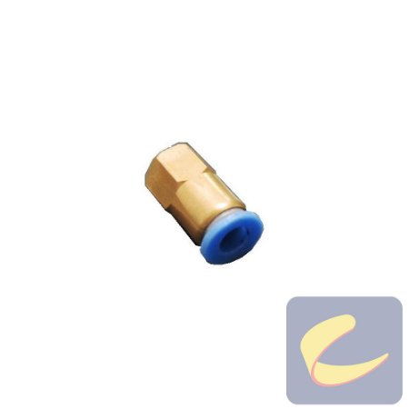 Conexão Rápida 6 mm.xMb8x0.75 mm. (Fêmea) - Compressores Odonto - Chiaperini