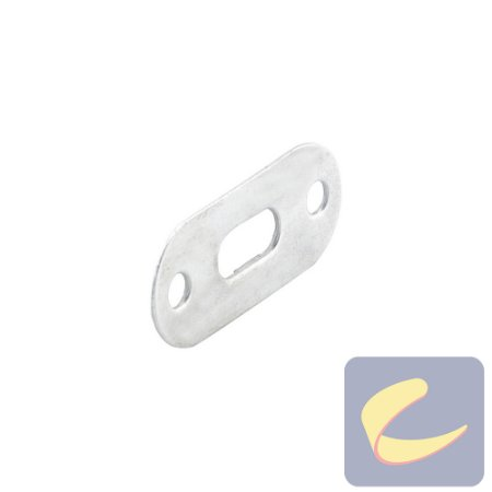 Placa Fix. Chave Seletora 50x22 - Elétricas - Chiaperini