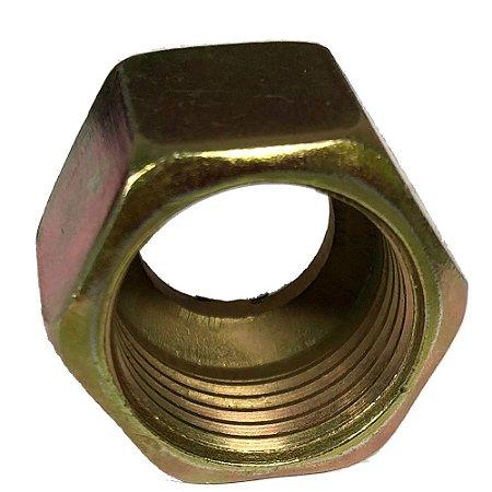 Porca Sext. Aço Sae 3/8 - Compressores Média Pressão - Chiaperini
