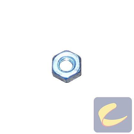 Porca Sext. M3 Zinco - Compressores Média Pressão - Chiaperini