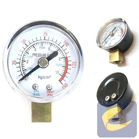 Manômetro 0 A 150 Lbs - Motocompressores - Chiaperini