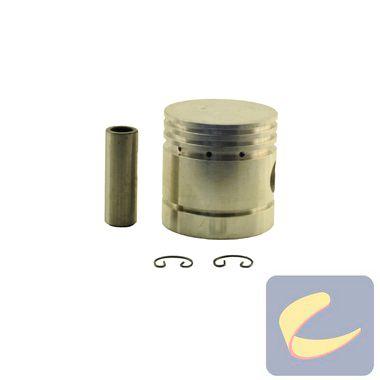 """Conjunto Pistão Alumínio 2.1/2"""" - Compressores Baixa Pressão - Chiaperini"""