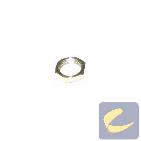 Porca Latão Mb 12 Bicro - Pneumáticas - Chiaperini