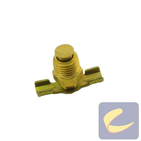 """Válvula Purgadora 1/4"""" Borboleta - Motocompressores - Compressores Baixa/ Média/ Alta Pressão - Chiaperini"""