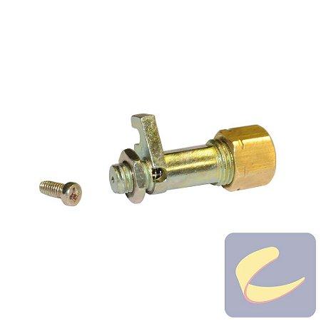 Válvula de Alívio para Pressostato - Motocompressores - Compressores Odonto/ Baixa/ Média/ Alta Pressão - Chiaperini