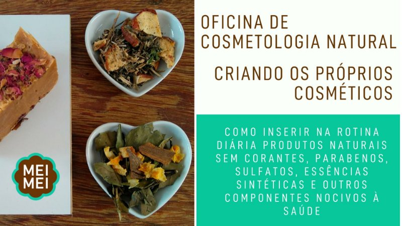 Oficina de Cosmetologia Natural