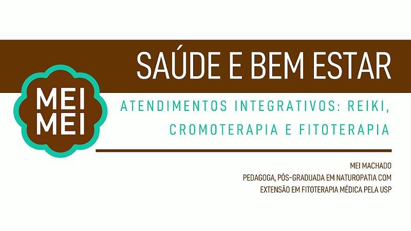 Saúde e Bem Estar: Atendimentos Integrativos: Reiki, Cromoterapia e Fitoterapia