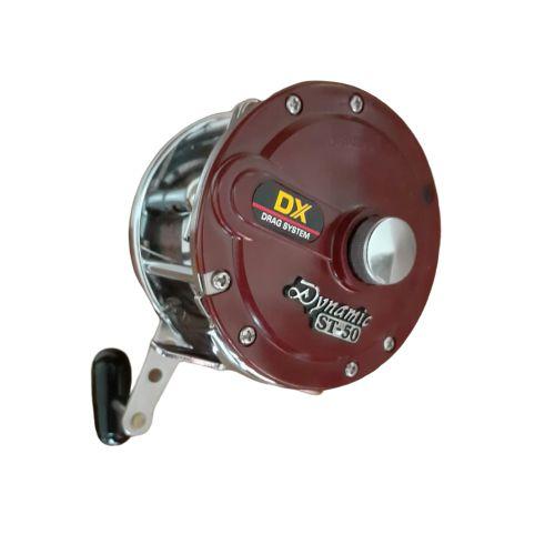 Carretilha Retrô Dynamic ST-50 DX Manivela Direita - DAIWA